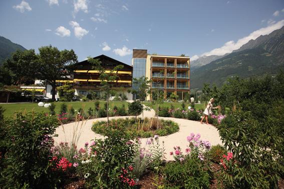 Das Ferienhotel Wiesenhof in Algund