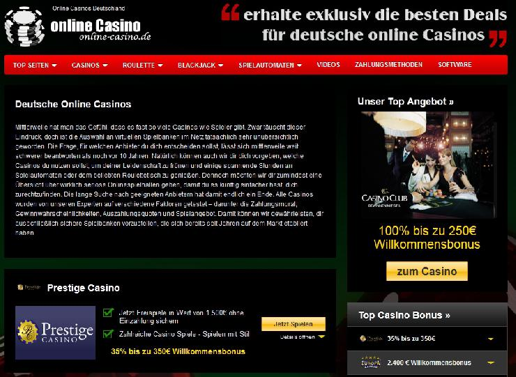 Innovation in Perfektion: Online-Casino.de