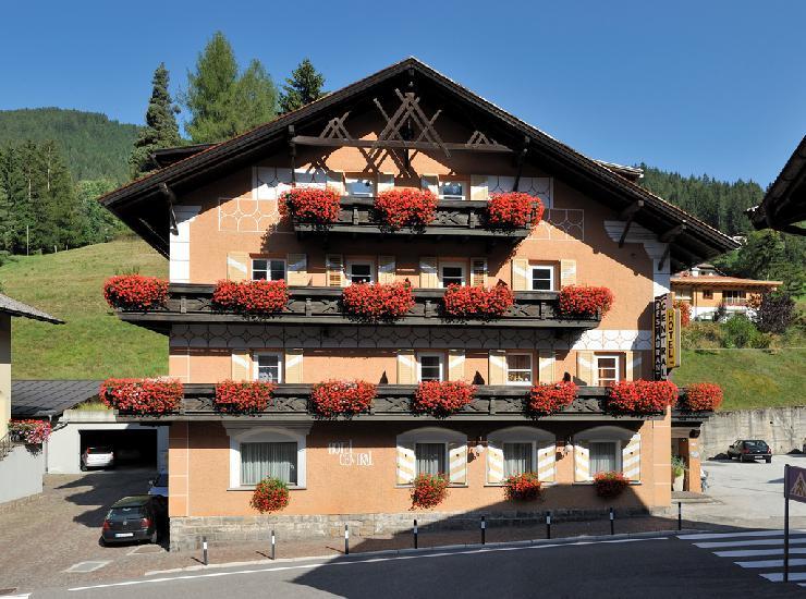 Das Hotel Central in Welchnofen
