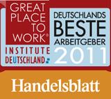 ConVista Consulting als einer der besten Arbeitgeber Deutschlands ausgezeichnet