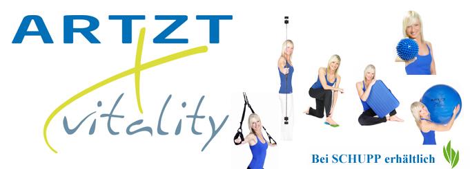Physiotherapie und gesunder Sport mit ARTZT vitality Produkten
