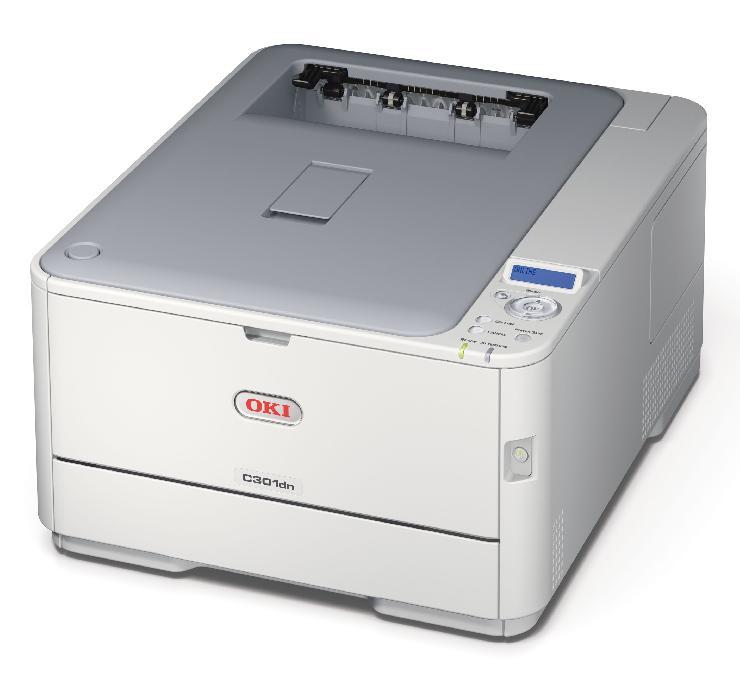 Innovative Drucktechnik für kleine und mittelständische Unternehmen: OKI C301dn mit Toner