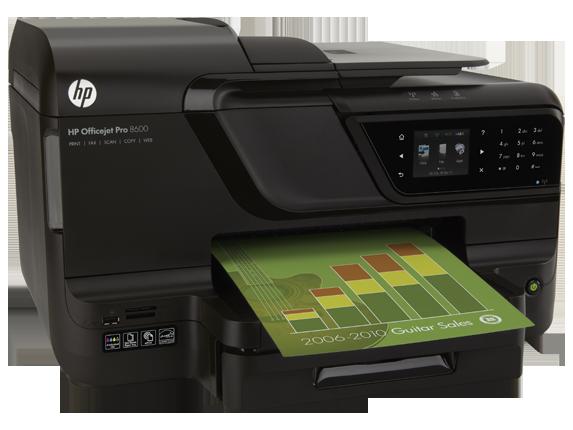 Wirtschaftlich und leistungsstark - der Multifunktionsdrucker HP Officejet Pro 8600 und seine Tintenpatronen
