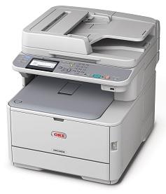 Ein echter Alleskönner für Kleingewerbe und Mittelstand: der Multifunktionsdrucker OKI MC352dn mit Toner