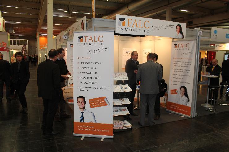 Falc Immobilien erfolgreich bei Start-Messe in Dortmund