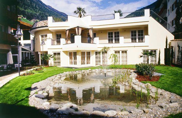 Das Hotel Stroblhof im Passeiertal