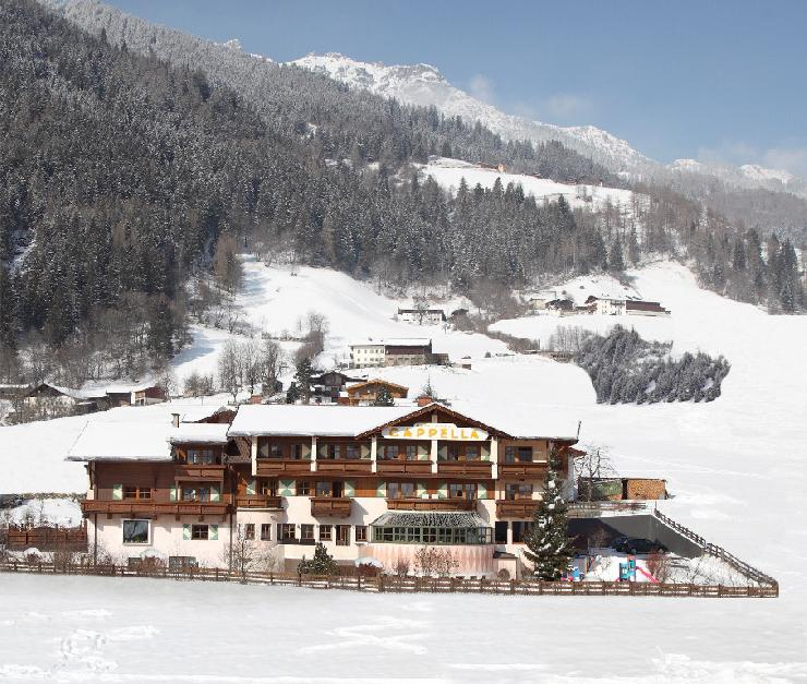 Das Natura Vitalis Hotel Cappella **** in Neustift