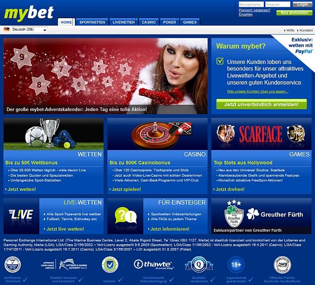 Erste Online Casino ermahnt