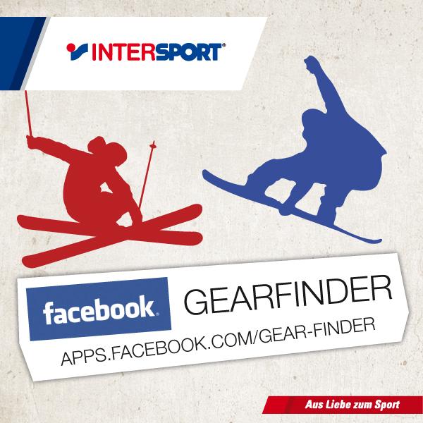 Gearfinder - die Facebook-App für Snowboarder und Freeskier