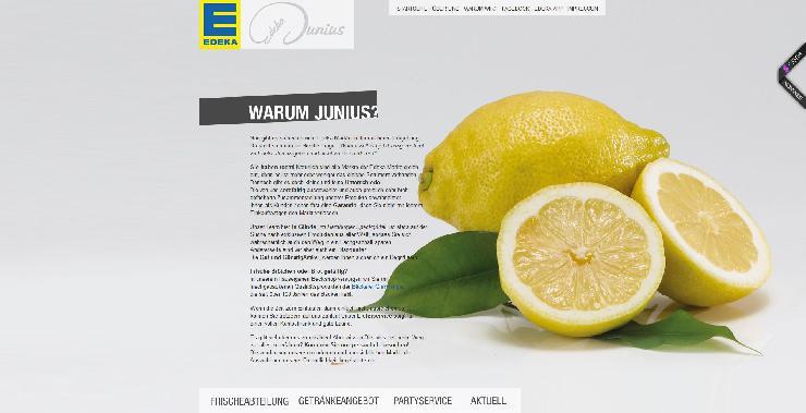 Online-Premiere für Edeka-Märkte