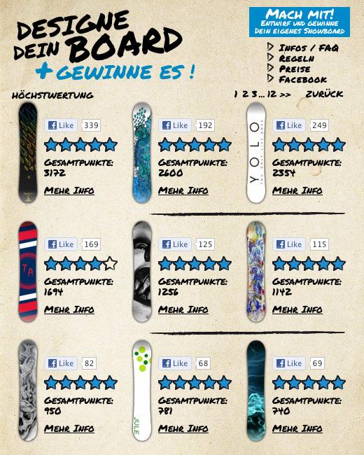 Firefly startet einen Online-Snowboarddesign-Wettbewerb