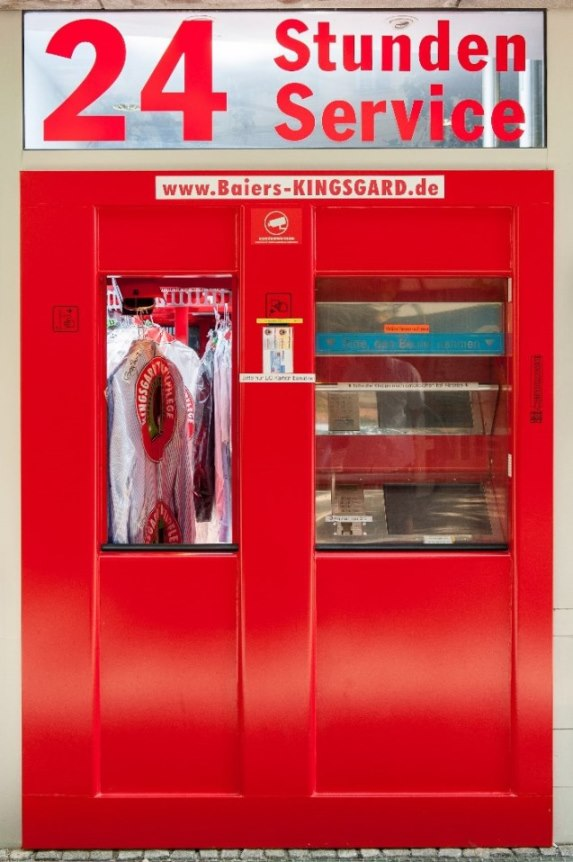 Neuer Automat von Kingsgard sorgt rund um die Uhr für saubere Wäsche