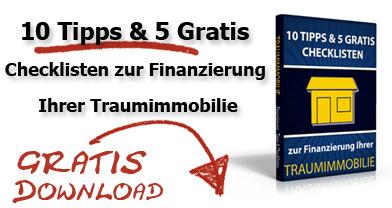 10 Tipps zur Finanzierung der Traumimmobilie in Wien und Niederösterreich - kostenloses Ebook