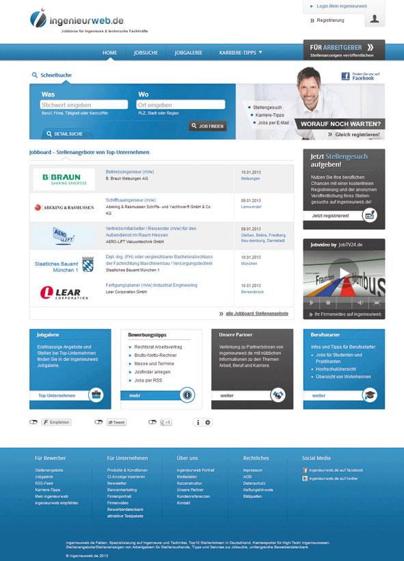 Relaunch von ingenieurweb.de