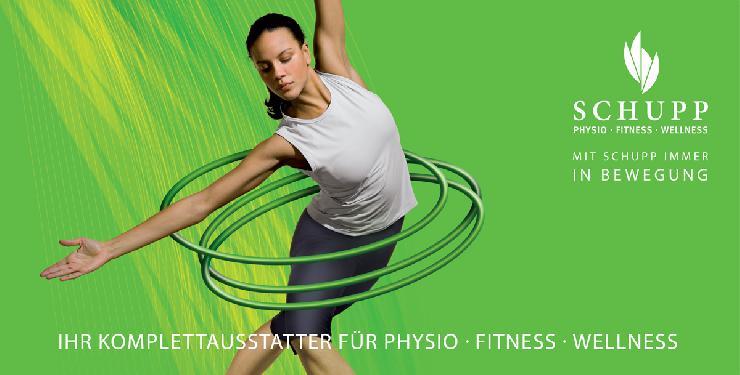 Seit 75 Jahren bewährt: Physio, Fitness und Wellness von SCHUPP
