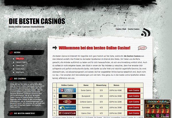 Die besten Casinos im Überblick