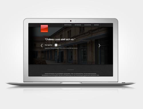 Ludwigsburger Markenagentur Château Louis mit neuer Webpräsenz