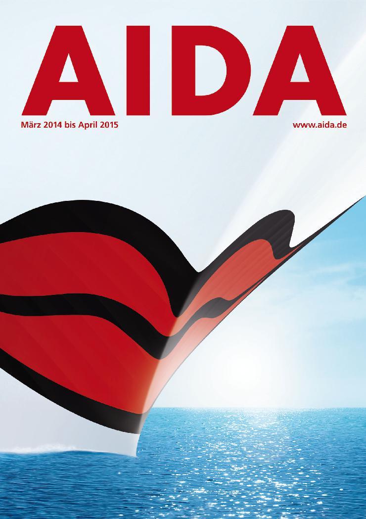 AIDA Cruises: Countdown zum Katalogstart 2014/2015