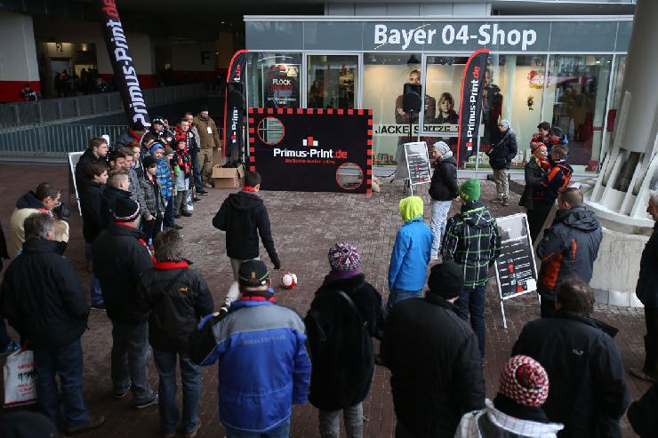Sponsorentag bei Bayer 04 Leverkusen ein voller Erfolg für Primus-Print.de