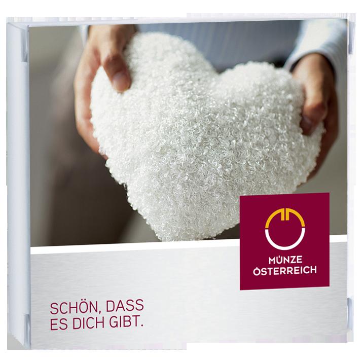 Geschenke zum Valentinstag von Münze Österreich - Ein Zeichen für ewige Liebe schenken