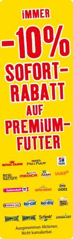 Fressnapf Schweiz AG senkt dauerhaft die Preise für Premiumfutter