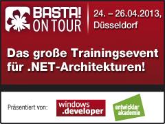 BASTA! on Tour 2013 - Das große .NET-Trainingsevent