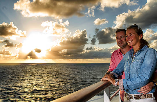 Kurz auf Kreuzfahrt  AIDA bietet Kurzreisen als Valentinstag-Special an