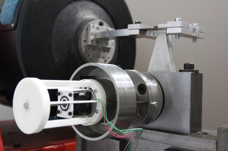 Fraunhofer LBF entwickelt Prüfstand zur Messung von Torsionsschwingungen