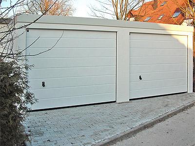 pressenachricht eine doppelgarage mit exklusiv garagen. Black Bedroom Furniture Sets. Home Design Ideas