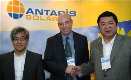 ANTARIS SOLAR eröffnet Niederlassung in Japan