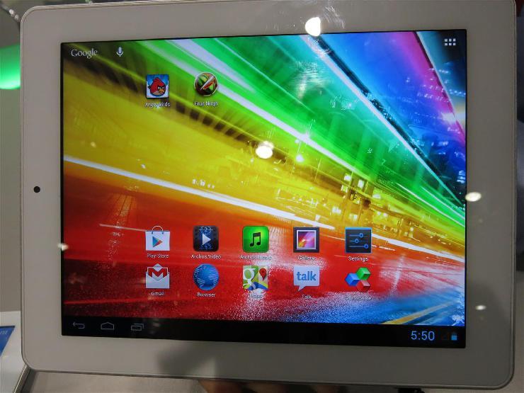 O la la : Hochauflösende Quad-Core-Tablets zu günstigem Preis