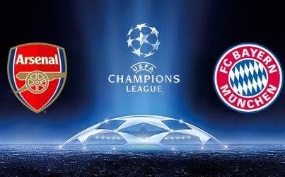 Arsenal - Bayern Live Stream auf live-stream-live.se