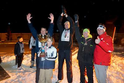 Schneeschuh-Biathlon im Hintertux