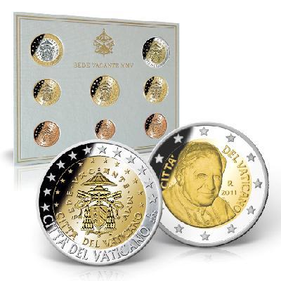 Münz-Rätsel im Vatikan