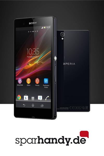 Jetzt bei Sparhandy.de das neue Flaggschiff Sony Xperia Z bestellen