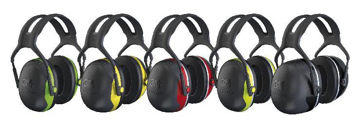 Sicher bis 37 Dezibel: Der neue 3M Peltor X Gehörschutz