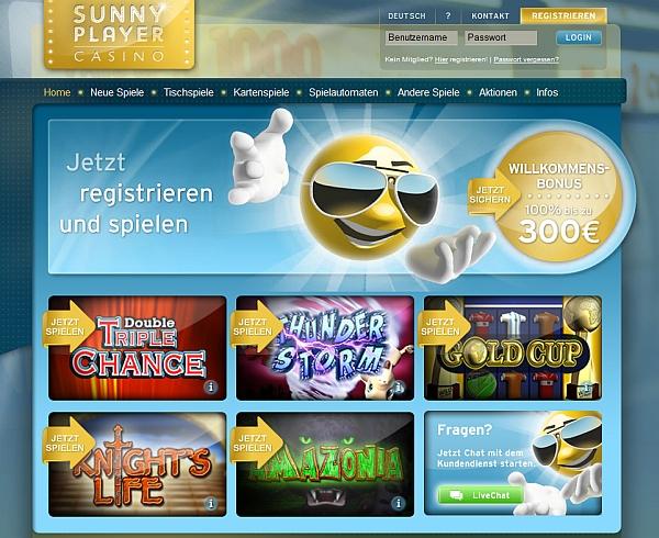Sunny Player Online Casino