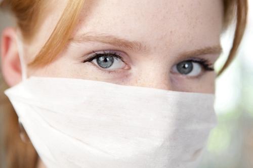 Neuer Mundschutz blockt effektiv Grippeviren ab