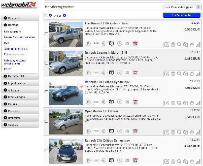 Neuer Händlerbereich: Webmobil24 bietet Autohändlern erhebliche Vereinfachung der Angebotsverwaltung