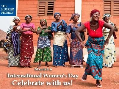 Das Hunger Projekt zum Weltfrauentag am 8. März