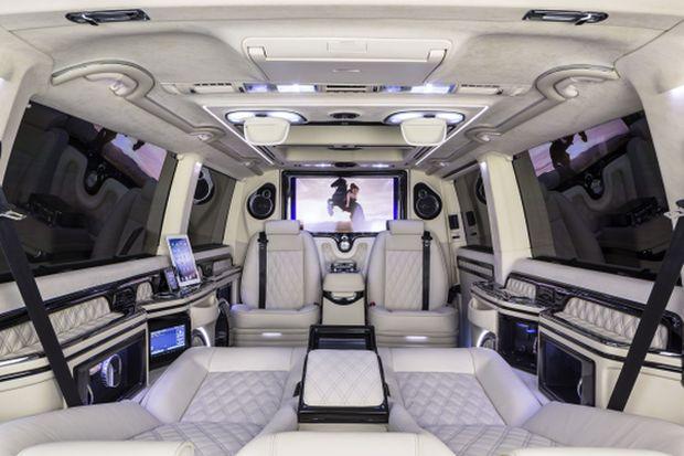 Power trifft Luxus - im MTM-Klassen T300 Business Luxus Van