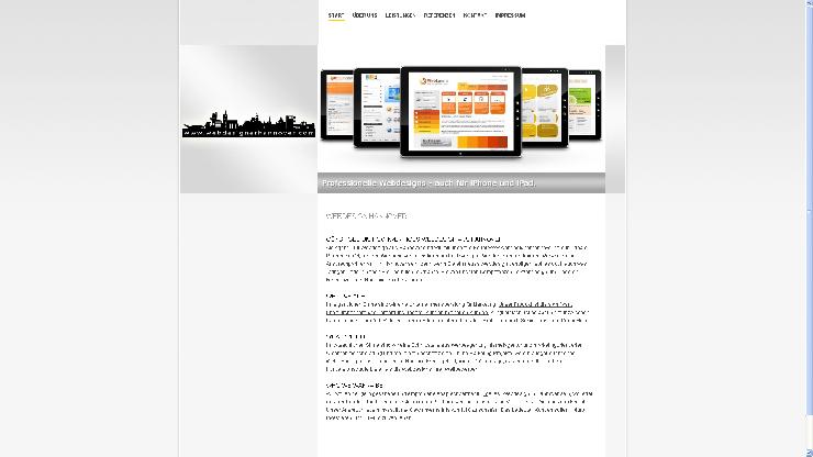 Unterschied Hobby-Webdesigner und professionelle Webdesign Agenturen