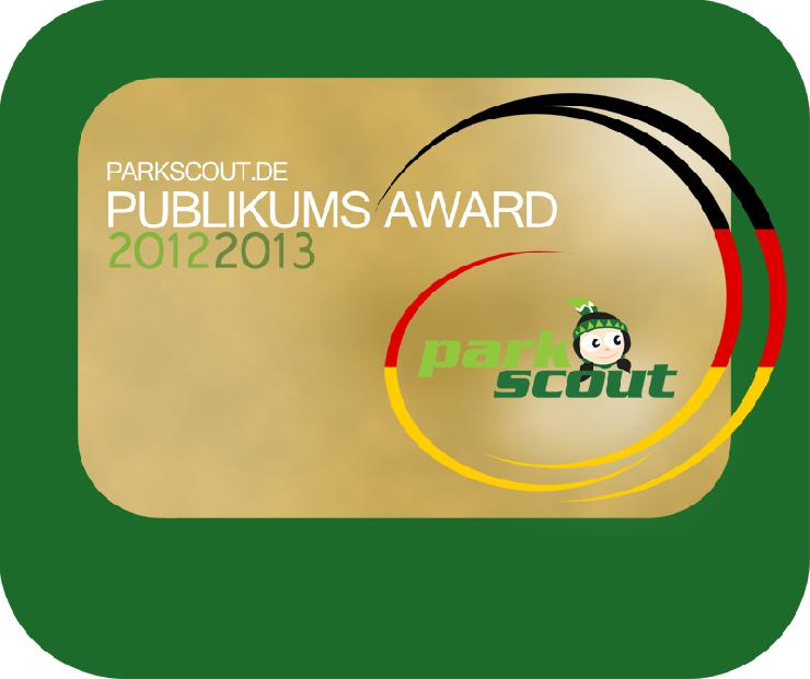 Gewinner des Parkscout Publikums Award 2012/2013 stehen fest