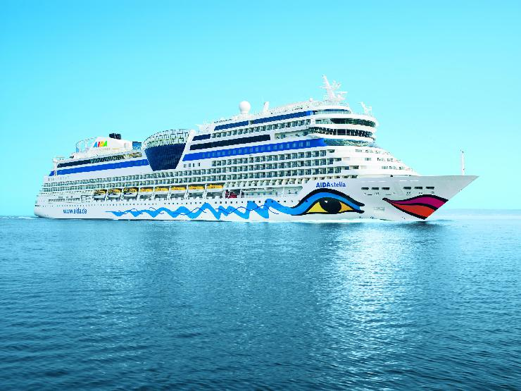AIDA Cruises übernimmt neues Kreuzfahrtschiff