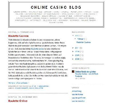 Online Casino Blog startet neu durch