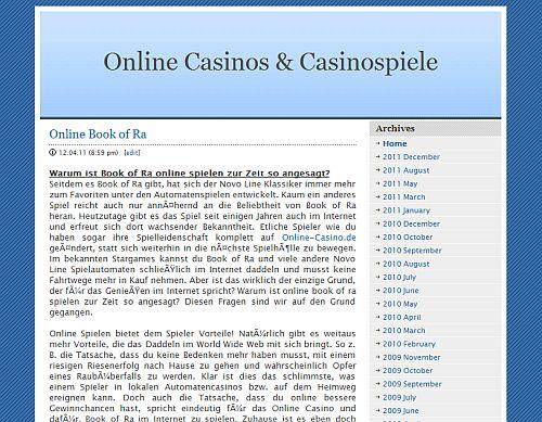 Exklusive Angebote auf Casinos.Tblog.com