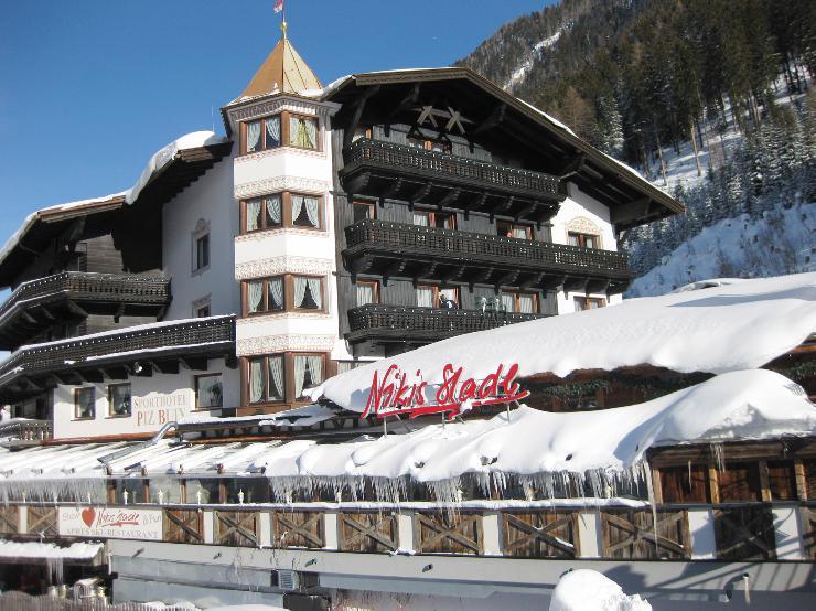 Beliebtes Sporthotel Piz Buin in Ischgl