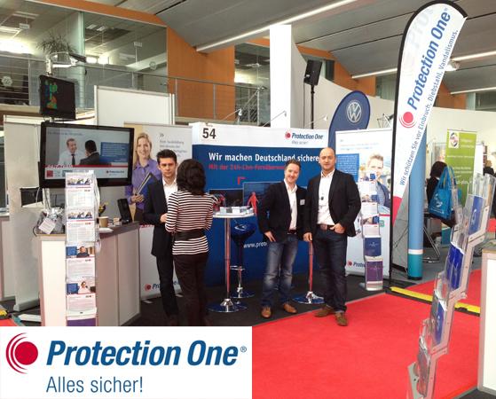 Die Protection One GmbH rekrutiert neue Talente auf der Jobmesse Düsseldorf