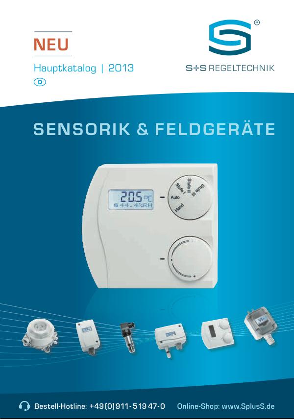 Neuer Katalog von S+S Regeltechnik erscheint in zahlreichen Sprachvarianten auch für mobile Endgeräte