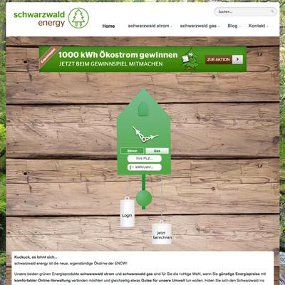 schwarzwald energy - Ökostrom aus dem Schwarzwald